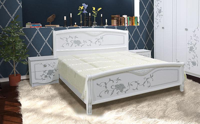 Кровать Світ Меблів VANESSA ECO / ВАНЕССА ЭКО - 160х200 см