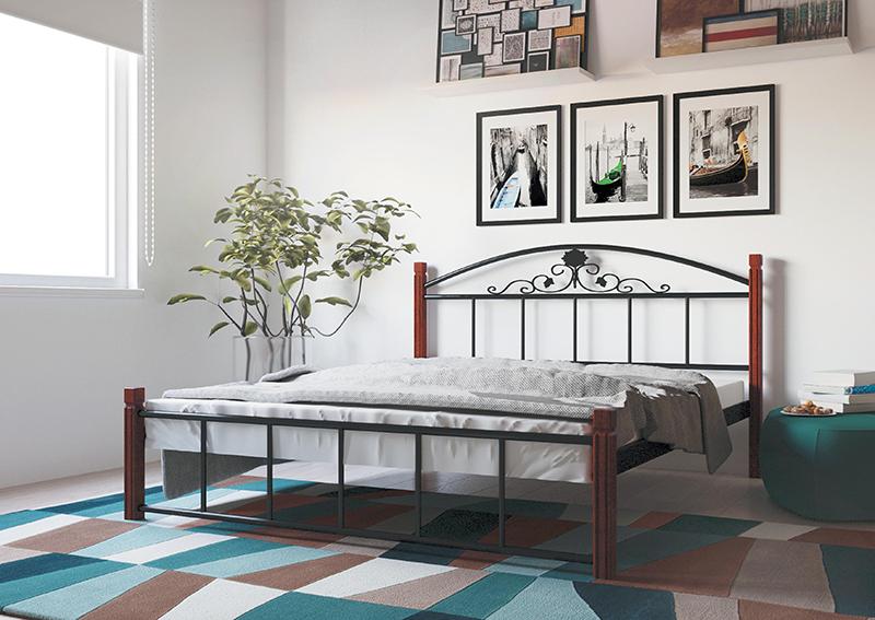Кровать Металл-Дизайн КАССАНДРА ВУД